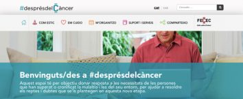#AFTERCANCER IS BORN, THE FIRST DIGITAL SPACE IN CATALONIA FOR PEOPLE WHO HAVE OVERCOME OR CHRONIFIED CANCER